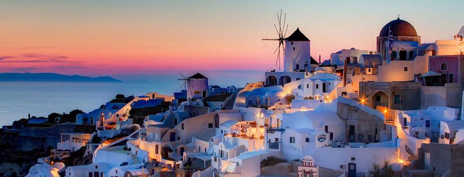 Pacote para Grécia - Destino de Santorini
